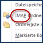 Imap-Konto in Outlook 2010