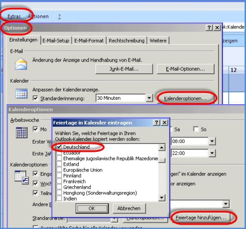 Outlook-Kalender 2007-Feiertage-web